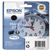 EPSON Cartridge Black 27 DURABrite C13T27014010
